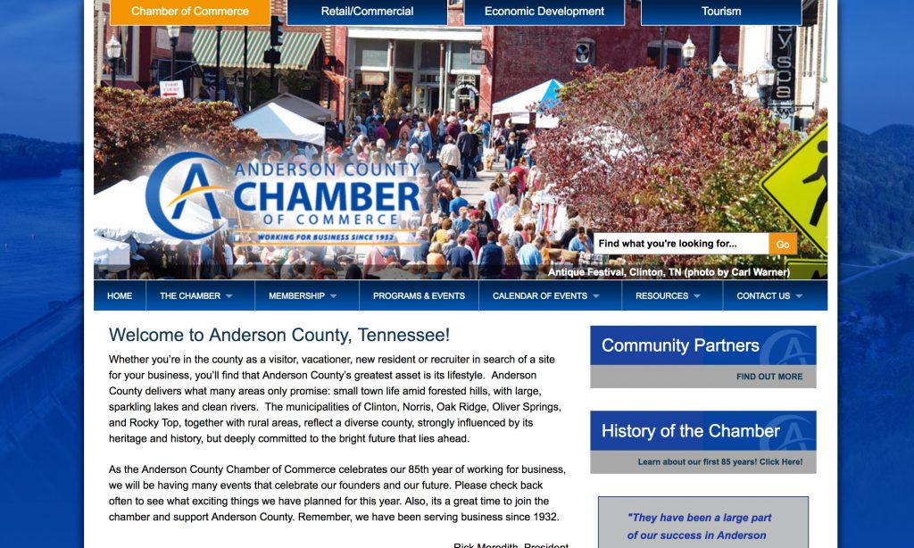 Tennessee Communities , Anderson County