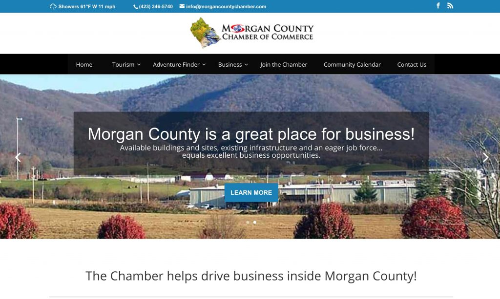 Morgan County , Tennessee Communities